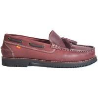Chaussures Femme Chaussures bateau La Valenciana ZAPATOS APACHE  MONTIJO BURDEOS rouge