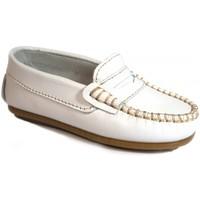 Chaussures Enfant Mocassins La Valenciana Zapatos Niños  045 Blanco blanc
