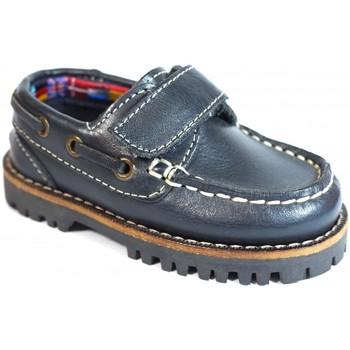 Chaussures Enfant Chaussures bateau La Valenciana ZAPATOS NIÑOS  031 MARINO bleu