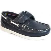 Chaussures Enfant Chaussures bateau La Valenciana ZAPATOS NIÑOS  020 MARINO bleu