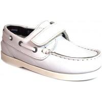 Chaussures Enfant Chaussures bateau La Valenciana ZAPATOS NIÑOS  020 BLANCO blanc