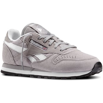 Chaussures Homme Baskets basses Reebok Sport CL Leather Suede Gris