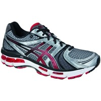 Chaussures Homme Baskets basses Asics Gelkayano 18 9321 Argent-Blanc-Bordeaux