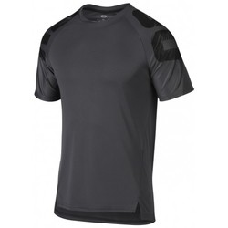 Vêtements Homme T-shirts & Polos Oakley T-shirt  Zone Wave Ss Forged Iron Anthracite