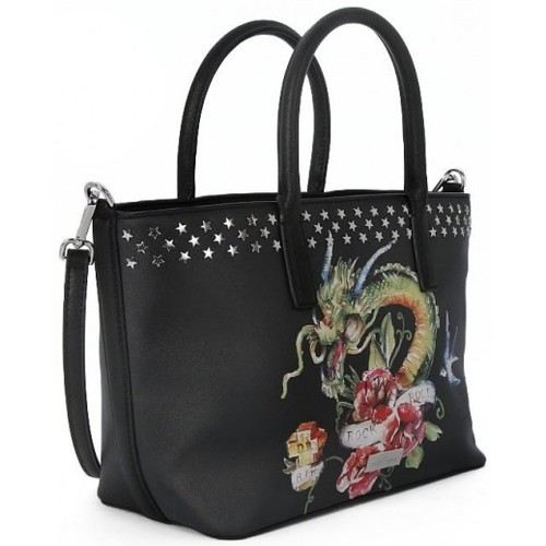 Sacs Femme Cabas / Sacs shopping Richmond SMALL SHOPPING GRACE JONES Nero