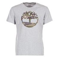 Vêtements Homme T-shirts manches courtes Timberland DUNSTAN RIVER CAMO PRINT Gris