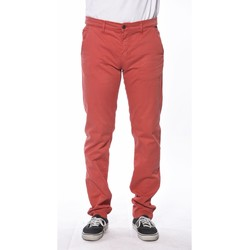Vêtements Homme Chinos / Carrots Deeluxe PANTALON HOMME LAWSON rouge