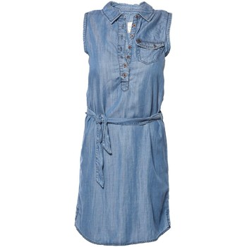 Vêtements Fille Robes courtes Deeluxe ROBE FILLE MAYBE bleu