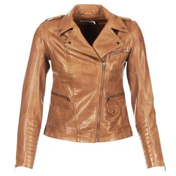 Vêtements Femme Vestes en cuir / synthétiques Naf Naf CUBA Marron