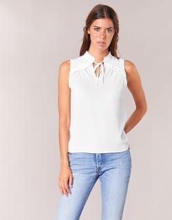 Vêtements Femme Tops / Blouses Naf Naf PIPANA Blanc