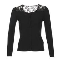 Vêtements Femme Gilets / Cardigans Naf Naf MOBRANDY Noir