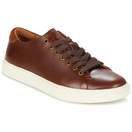 Chaussures Homme Baskets basses Ralph Lauren JERMAIN Marron
