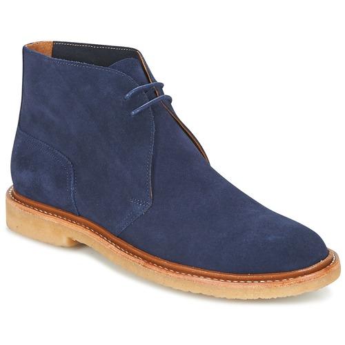 Polo Ralph Lauren KARLYLE Marine - Livraison Gratuite avec - Chaussures Boot Homme