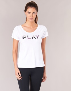 Vêtements Femme T-shirts manches courtes Only Play LINDA Blanc