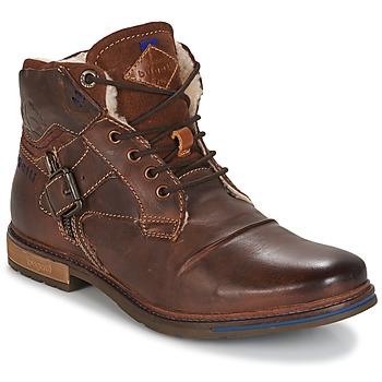 Chaussures Homme Boots Bugatti LENIL Marron foncé