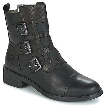 Chaussures Femme Boots Bugatti POMO Gris foncé