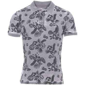 Vêtements Homme Polos manches courtes The Fresh Brand - polo gris