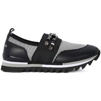 Chaussures Femme Baskets basses Apepazza DANA SLIP ON Nero