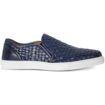 Chaussures Homme Slips on Kammi BRECOS CRUST BOTTOLATO AZZURRO Blu