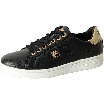Chaussures Femme Baskets basses Fila Basket  Crosscourt 2 Low WMN Black/Gold Noir