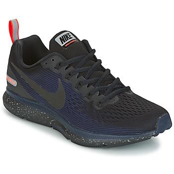 Chaussures Femme Running / trail Nike AIR ZOOM PEGASUS 34 SHIELD Noir / Bleu