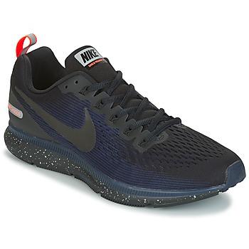 Chaussures Homme Running / trail Nike AIR ZOOM PEGASUS 34 SHIELD Noir / Bleu