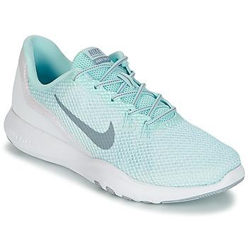Chaussures Femme Fitness / Training Nike FLEX TRAINER 7 REFLECT W Blanc / Vert