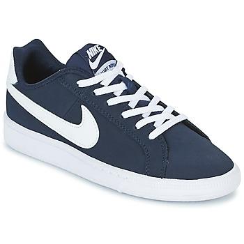 Chaussures Enfant Baskets basses Nike COURT ROYALE GRADE SCHOOL Bleu / Blanc