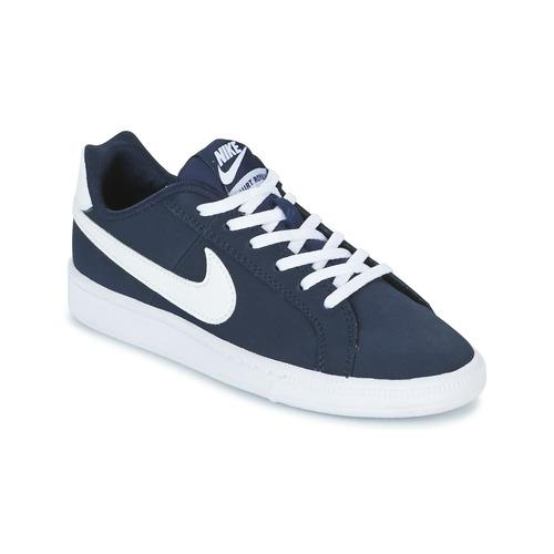 finest selection 597bd 51a4c Chaussures Enfant Baskets basses Nike COURT ROYALE GRADE SCHOOL Bleu   Blanc