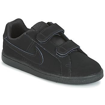 Chaussures Garçon Baskets basses Nike COURT ROYALE PRE-SCHOOL Noir
