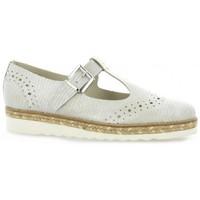 Chaussures Femme Sandales et Nu-pieds Mitica sandales cuir laminé Beige