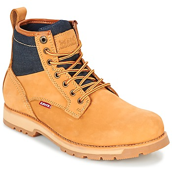 Chaussures Homme Boots Levi's LOGAN Jaune