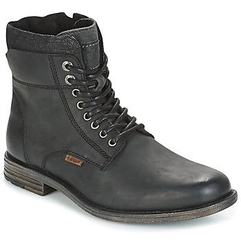 Chaussures Homme Boots Levi's EMERSON COLLAR Noir