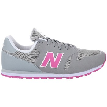 Chaussures Enfant Baskets basses New Balance KD373YPY Blanc-Gris-Rose
