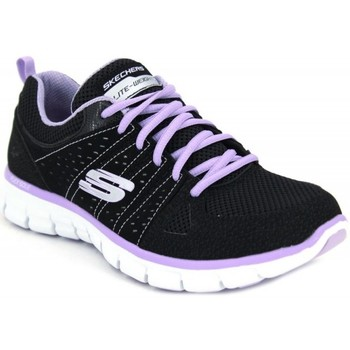 Chaussures Femme Baskets mode Skechers Synergy Look Book 11963 Noir