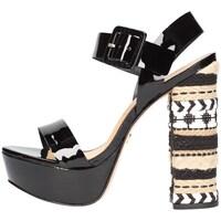 Chaussures Femme Sandales et Nu-pieds Vicenza 287003 Viccini Sandale Femme noir noir