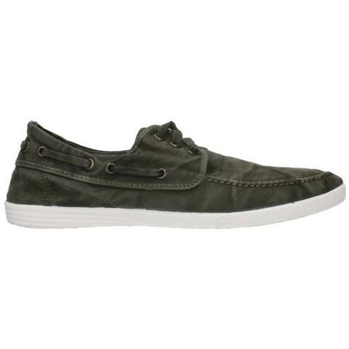 Chaussures Homme Chaussures bateau Natural World 303E - Kaki vert