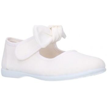 Chaussures Fille Ballerines / babies Batilas 10601 Niña Blanco blanc