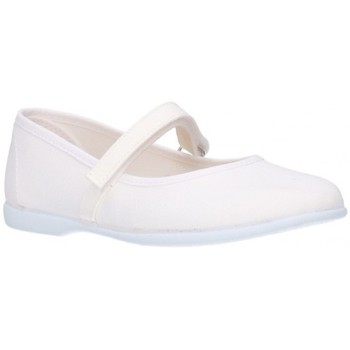 Chaussures Fille Ballerines / babies Batilas 11301 blanc