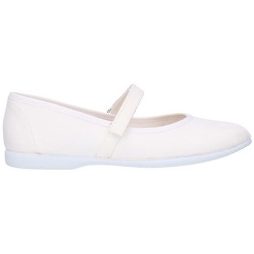 Chaussures Fille Ballerines / babies Batilas 11301 blanc