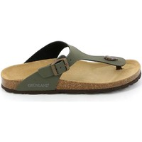 Chaussures Homme Tongs Grunland CB2011 Tongs Man Verde Verde