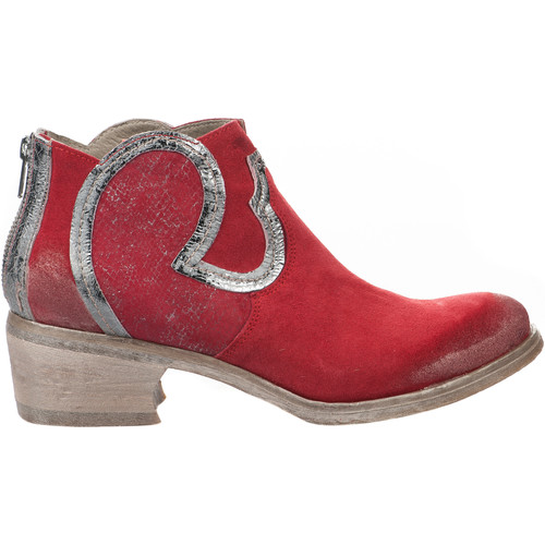 Khrio Boots femme -  - Rouge - 36 ROUGE - Chaussures Boot Femme