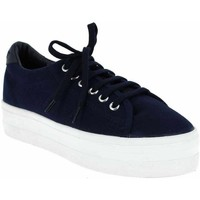Chaussures Femme Baskets mode No Name Sneakers Canvas Marine bleu