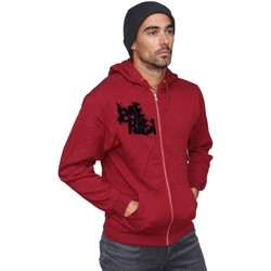 Vêtements Homme Sweats Emerica Sweat capuche zippé skateboard vintage  Shattered Red Rouge
