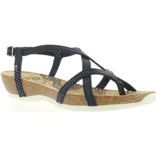 Chaussures Femme Sandales et Nu-pieds Panama Jack DARIA SNAKE B1 Azul