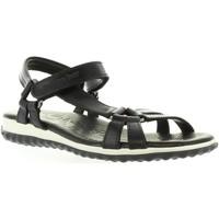 Chaussures Femme Sandales et Nu-pieds Panama Jack CARIBEL B&W B1 Negro
