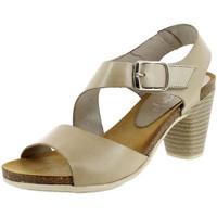 Chaussures Femme Sandales et Nu-pieds Marila 9820 beige