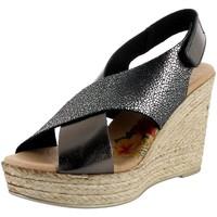 Chaussures Femme Sandales et Nu-pieds Marila 4064 gris