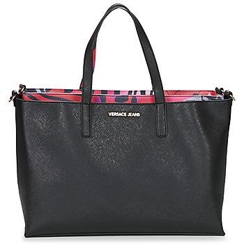 Sacs Femme Cabas / Sacs shopping Versace Jeans ANTALOS Noir / Rouge Multicolore