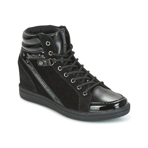 Chaussures Femme Baskets montantes Versace Jeans Couture GERFI Noir